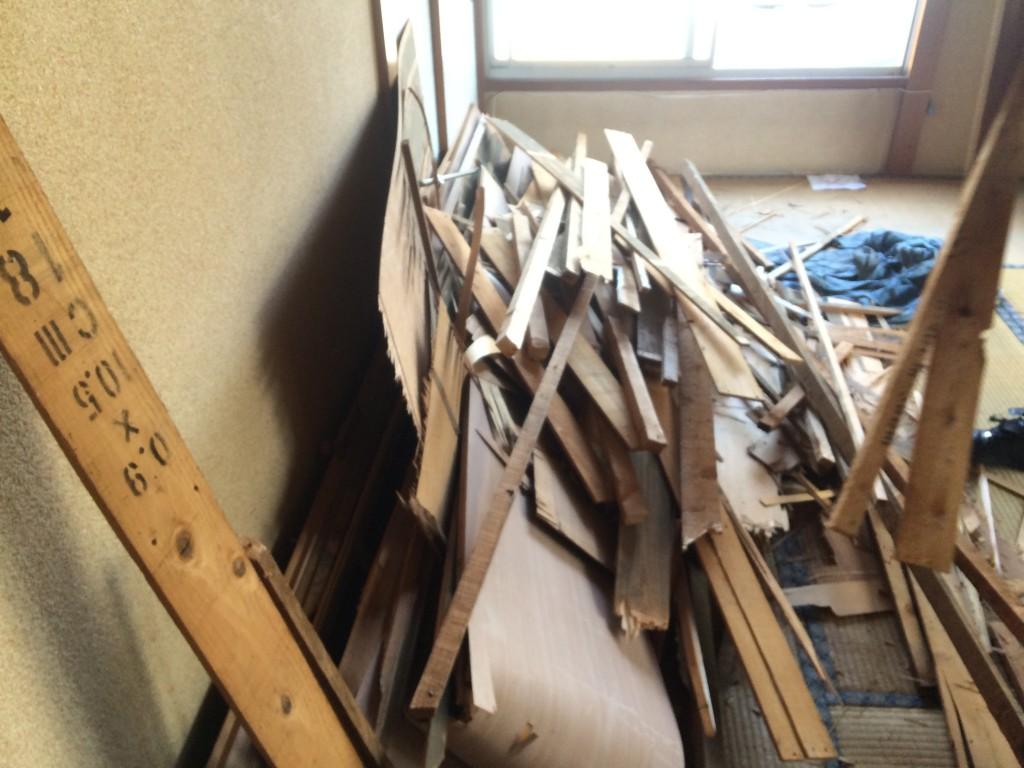 【DIY】素人でも大丈夫!天井の剥がし方【ワークショップ】3