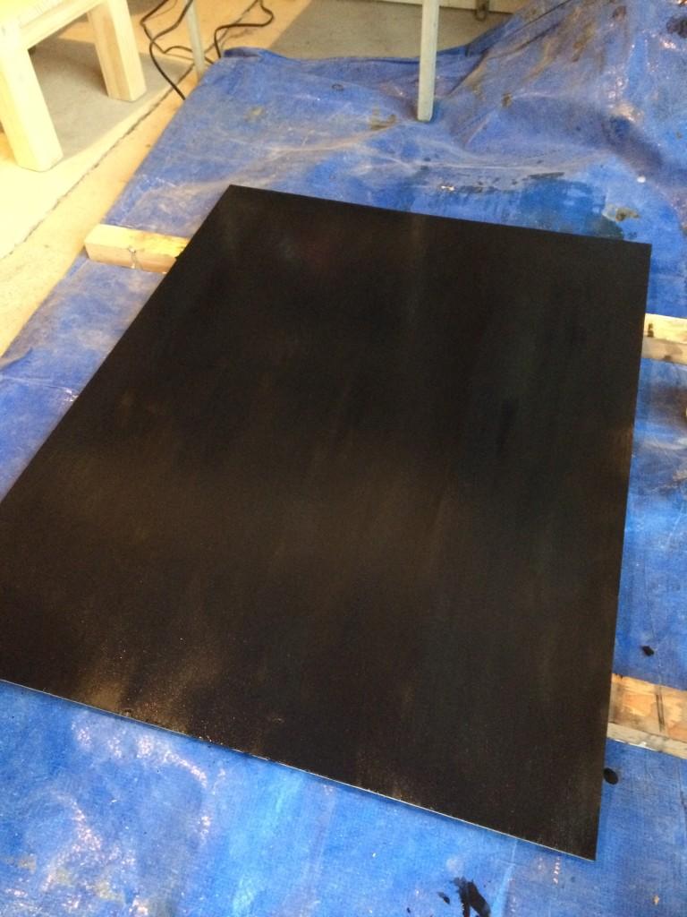 【DIY】黒板塗料を使ったメニューボードの作り方【やり方】