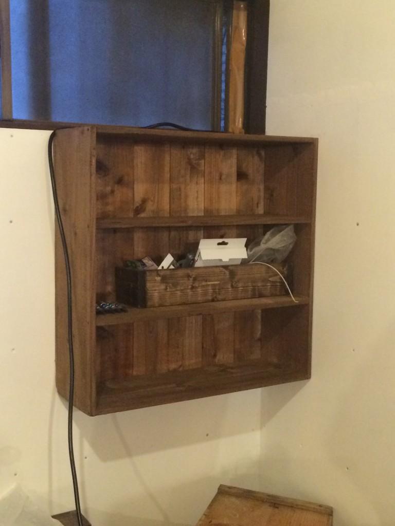 本棚DIY自作
