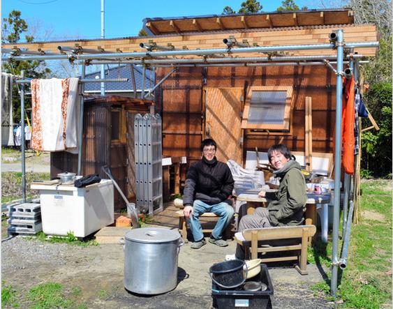 [DIY]千葉県で自作の小屋を立てて暮らす若者