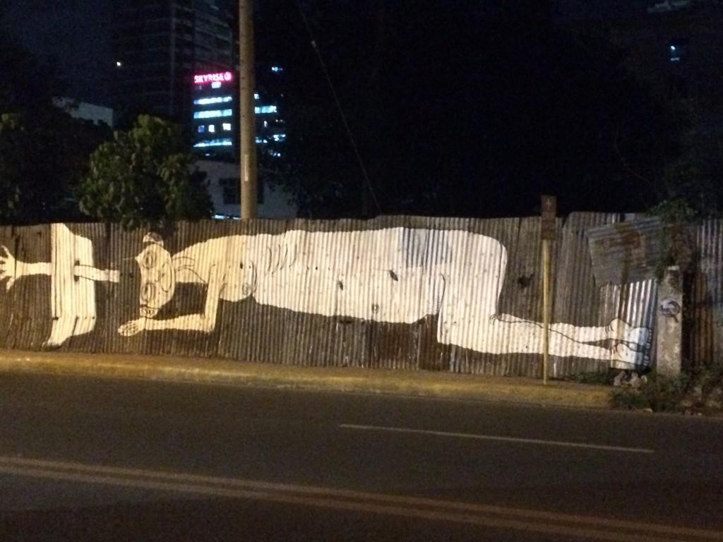 フィリピンの壁画、グラフィティ